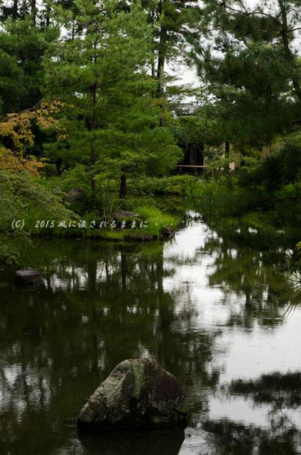 2015年8月撮影 雨の京都・等持院6