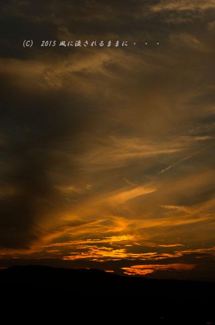 015年9月撮影 奈良・若草山から見た夜景と・・・、ちょっとだけ夕景(汗)3