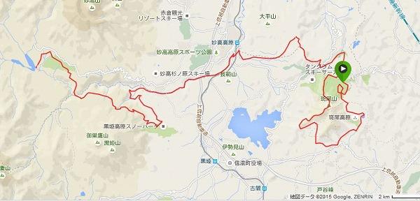 2015 信越 コース