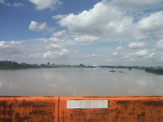 江戸川 水位 流山
