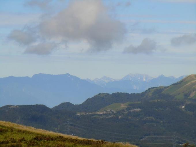 剣岳・立山も見えた