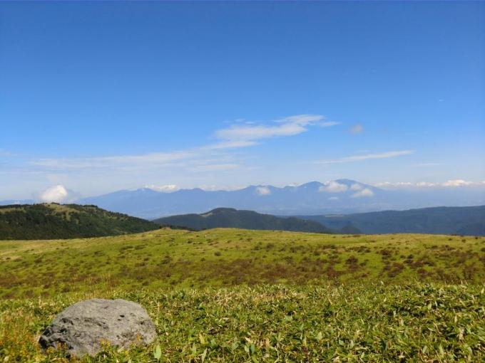 浅間山から四阿山・根子岳