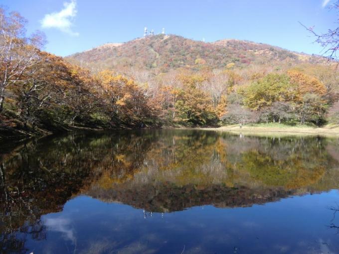 血の池から地蔵岳
