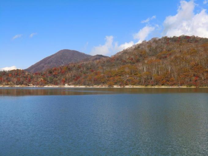 小沼南端から黒檜山