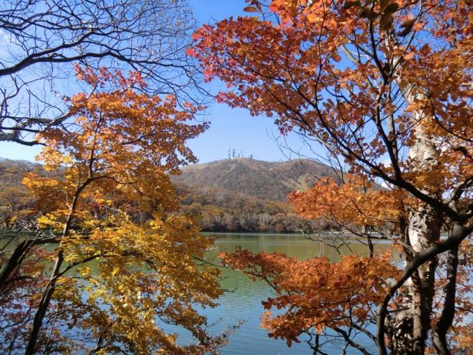小沼から地蔵岳