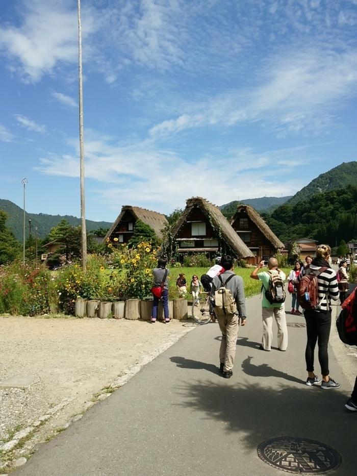 シルバーウィークの行楽として、日本の伝統や技術・文化に親しんでみませんか?世界文化遺産 白川郷 ②