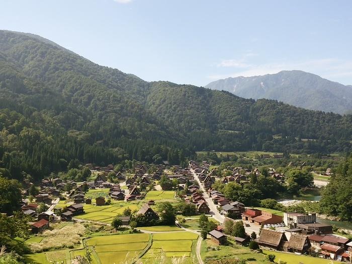 シルバーウィークの行楽として、日本の伝統や技術・文化に親しんでみませんか?世界文化遺産 白川郷 ⑥