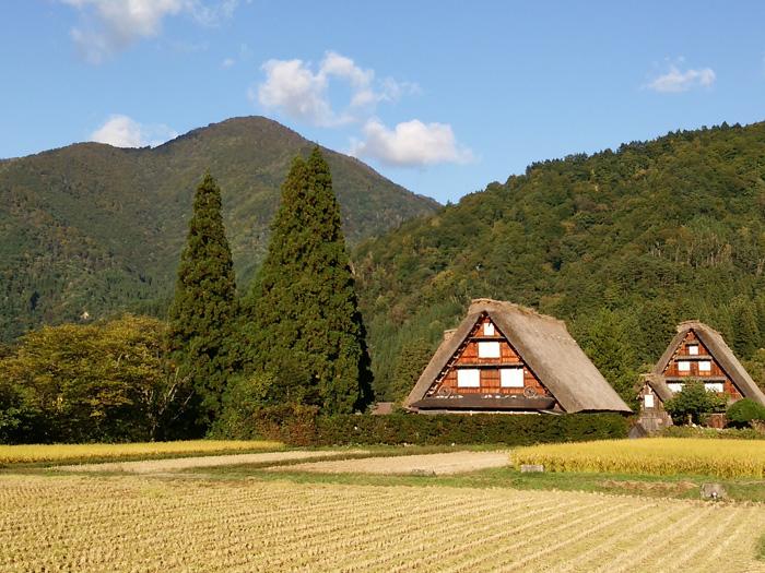 白川郷 稲刈りの後・・・・。 改めて季節の移り変わり&風景というのはアッ!という間だな~ ⑪