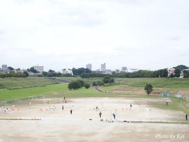 サッカー♪