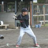 1回裏、李が安打で出塁