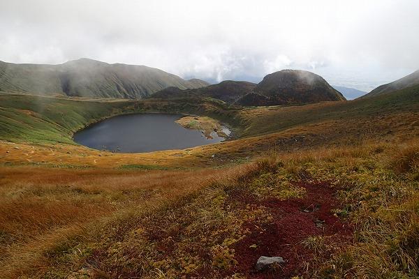 鳥海山の紅葉1