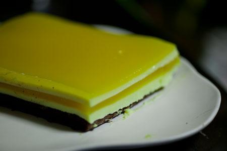 オレンジムースケーキ1