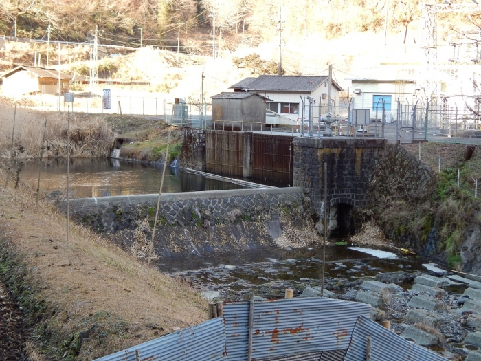 DSCN9805川走川第一取水堰