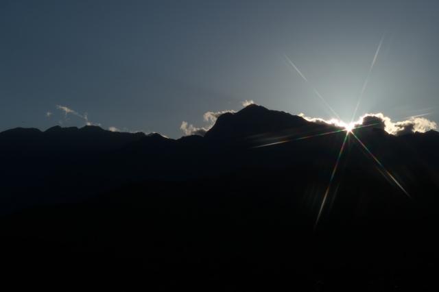 甲斐駒-夕陽-03