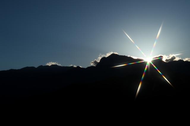 甲斐駒-夕陽-02