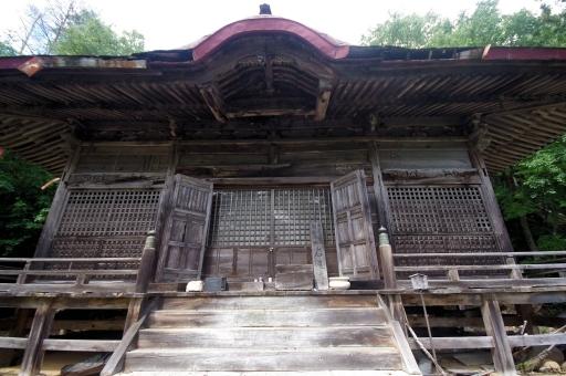 岩屋寺の根本堂