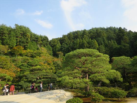 京都銀閣寺に行ってきました06