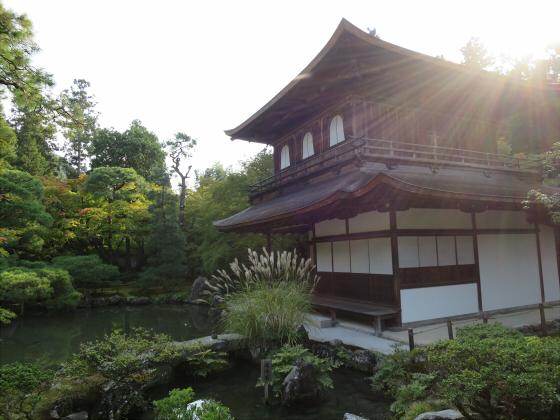 京都銀閣寺に行ってきました09