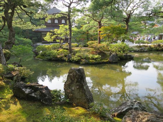 京都銀閣寺に行ってきました19