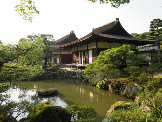 京都銀閣寺に行ってきました23