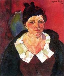 スュザンヌ・ヴァラドン「リュシー・ユトリロ・ヴァロールの肖像」