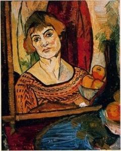 スュザンヌ・ヴァラドン「自画像」