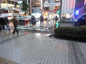雨の髙島屋