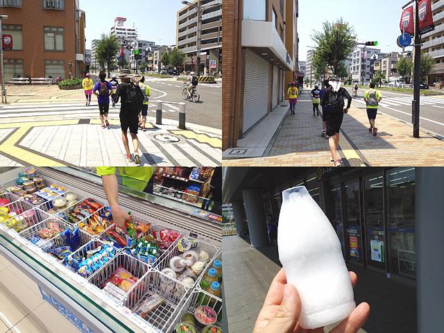 8月1日のランニング練習会。楽しかった!元町から須磨へ(^^♪