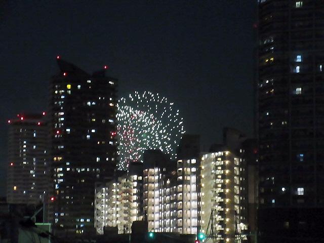 この夏の思い出編☆神戸の花火大会は長田のインドビアガーデンで(^^♪