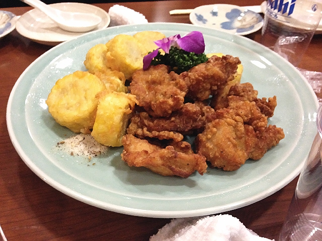 ボーリングをしながら飲み放題と美味しい中華料理♪@弁天町グランドボウル