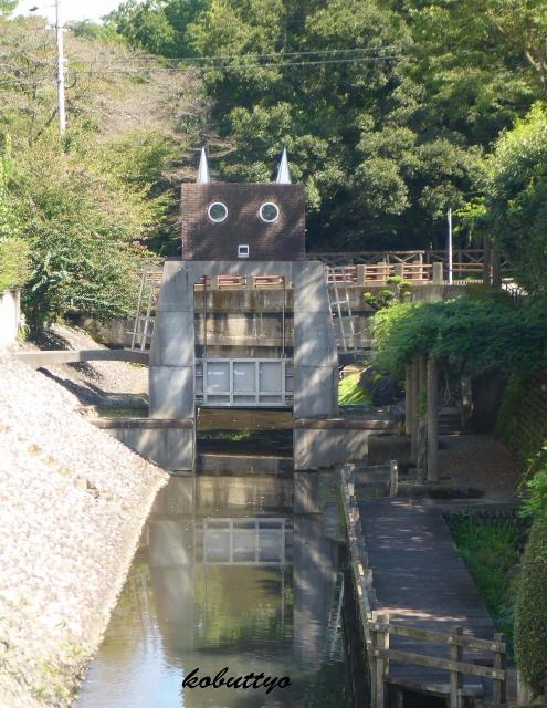 長良橋ロボット水門-2