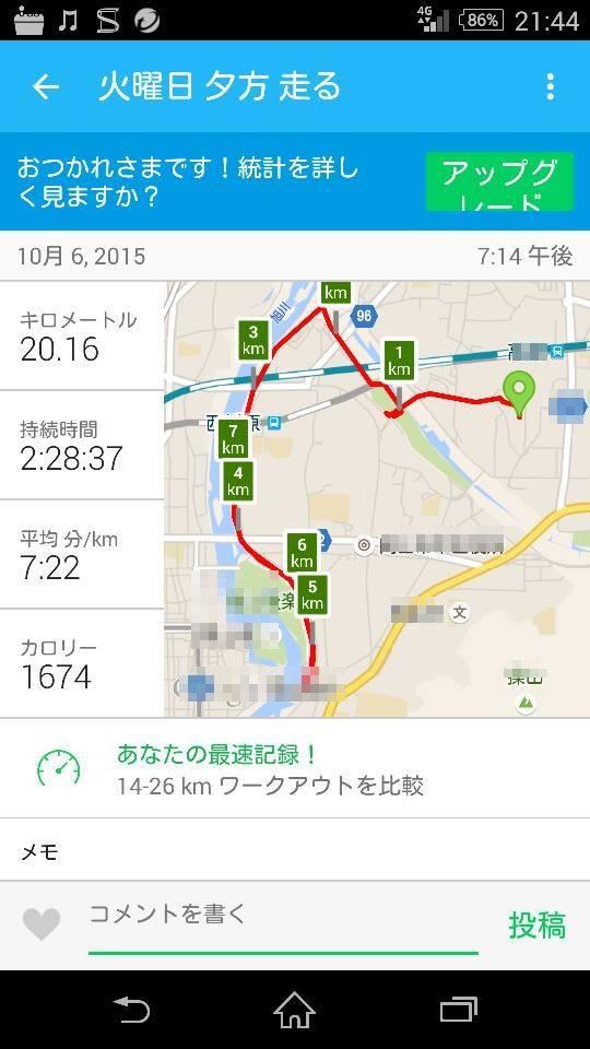 初20km 15.10.6