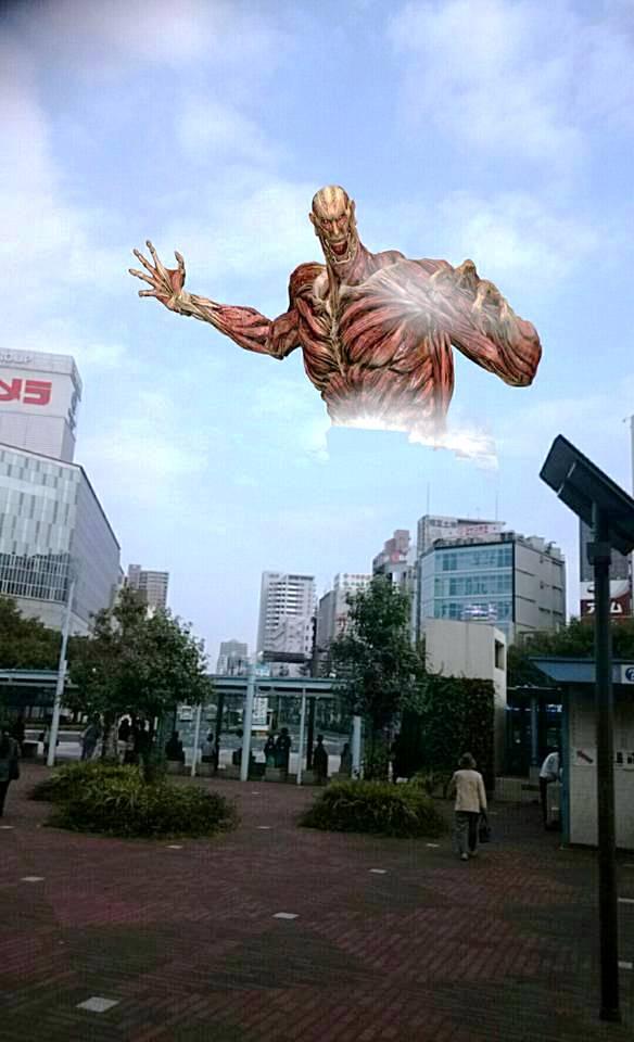 進撃の桃太郎 岡山駅前