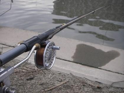 チヌ竿とフライリール