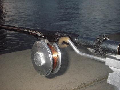 フライリール5番ミャク釣り