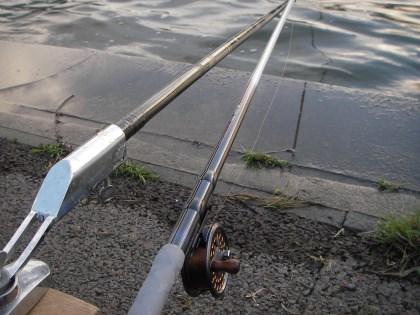 チヌ竿とチヌリール