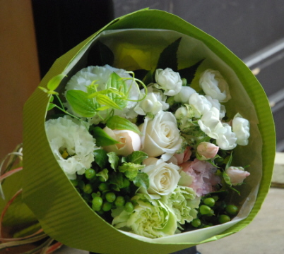 長場さんのお花