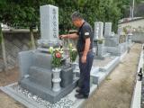 墓石に酒blog