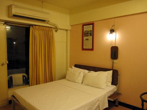 4階の宿泊する部屋