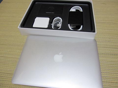 MacBookPro 開封