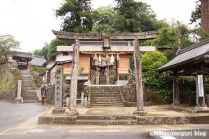 須賀神社(雲南市大東町)2