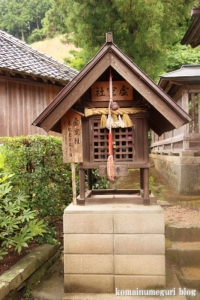 須賀神社(雲南市大東町)39