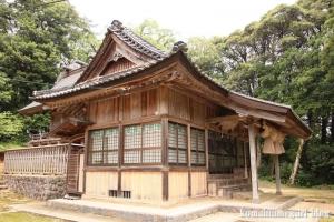宇留布(うるふ)神社(松江市八雲町平原)12