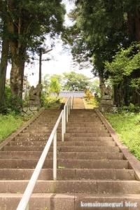 宇留布(うるふ)神社(松江市八雲町平原)2