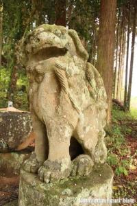 宇留布(うるふ)神社(松江市八雲町平原)18