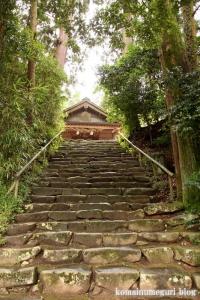 神魂(かもす)神社(松江市大庭町)9