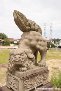 六所神社(松江市大草町)2