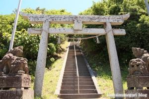 大﨑神社(松江市島根町大芦)2