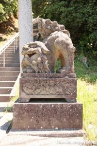 大﨑神社(松江市島根町大芦)4