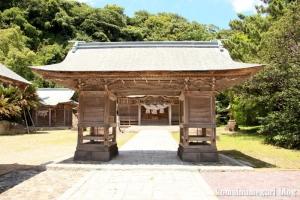 恵曇(えとも)神社(松江市嘉島町恵曇)6